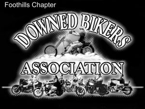 Downed Bikers Association - Foothills Chapter